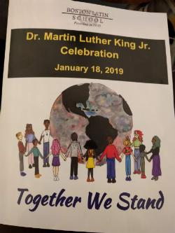 MLK School-Wide Celebration Inspires