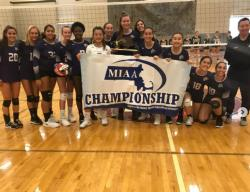 Girls' Volleyball Heading to States