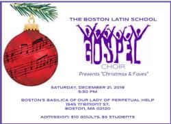 Gospel Choir Concert Dec. 21