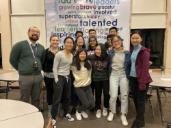 BLS Science Team Finding Success at WSSL Competitions